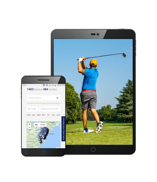 Example of Digital Golfpass