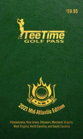 2021 Teetime Golf Pass Mid-Atlantic Edition