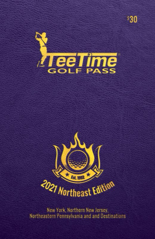 2021 Teetime Golf Pass Northeast Edition