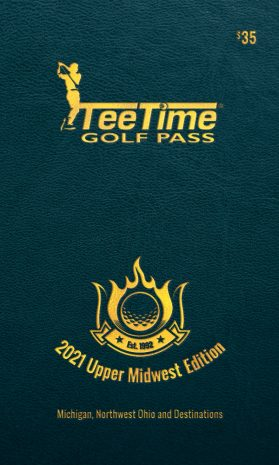 2021 Teetime Golf Pass Upper Midwest Edition